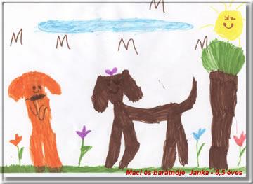Kép: Gyermekrajz 804 képeslap.