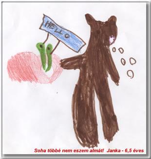Kép: Gyermekrajz 805 képeslap.