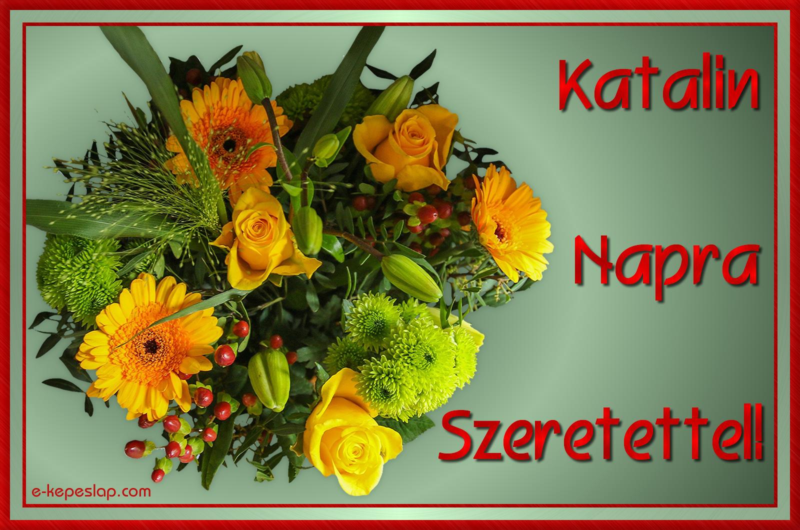 katalin névnapi képek Névre szóló képeslap Katalin névnapra   Képeslapküldés   e  katalin névnapi képek