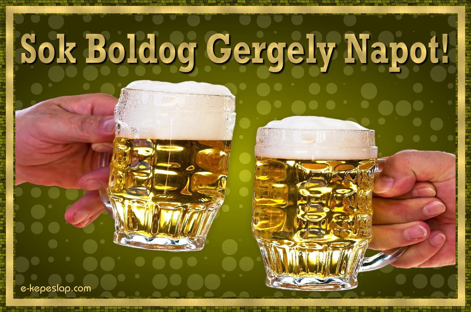 gergely napi köszöntő Gergely névnapi képeslap   Képeslapküldés   e kepeslap.com gergely napi köszöntő