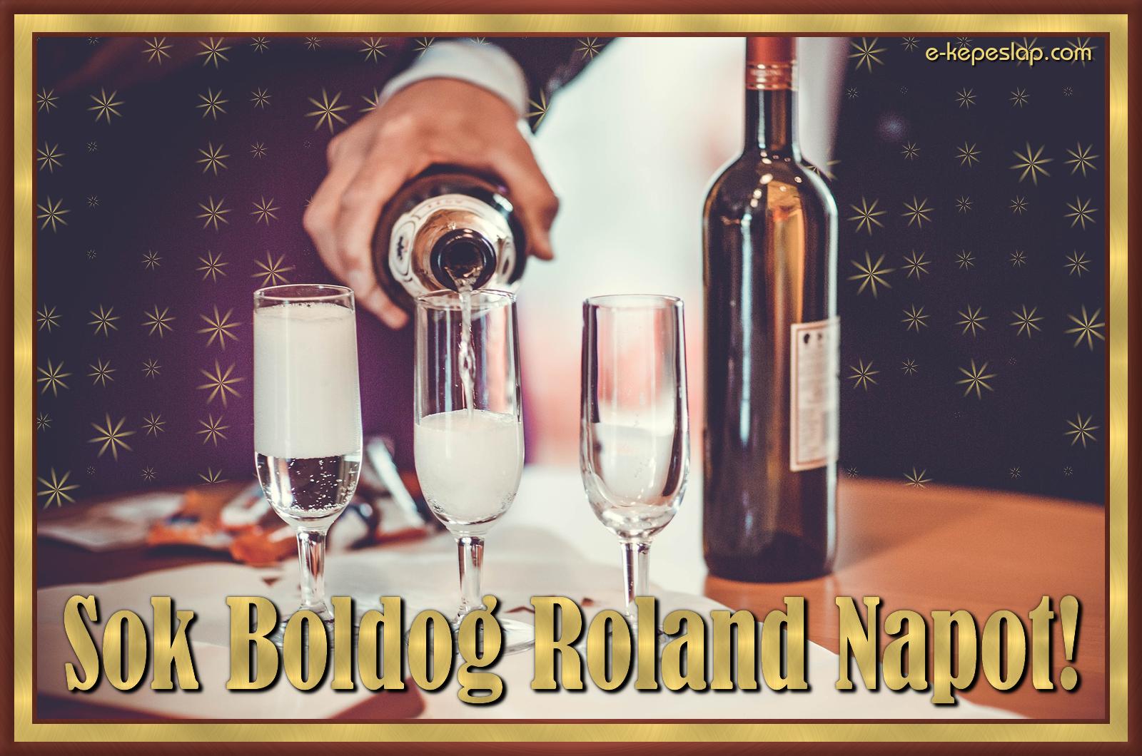 névnapi köszöntő roland Roland névnapi képeslap   Képeslapküldés   e kepeslap.com névnapi köszöntő roland