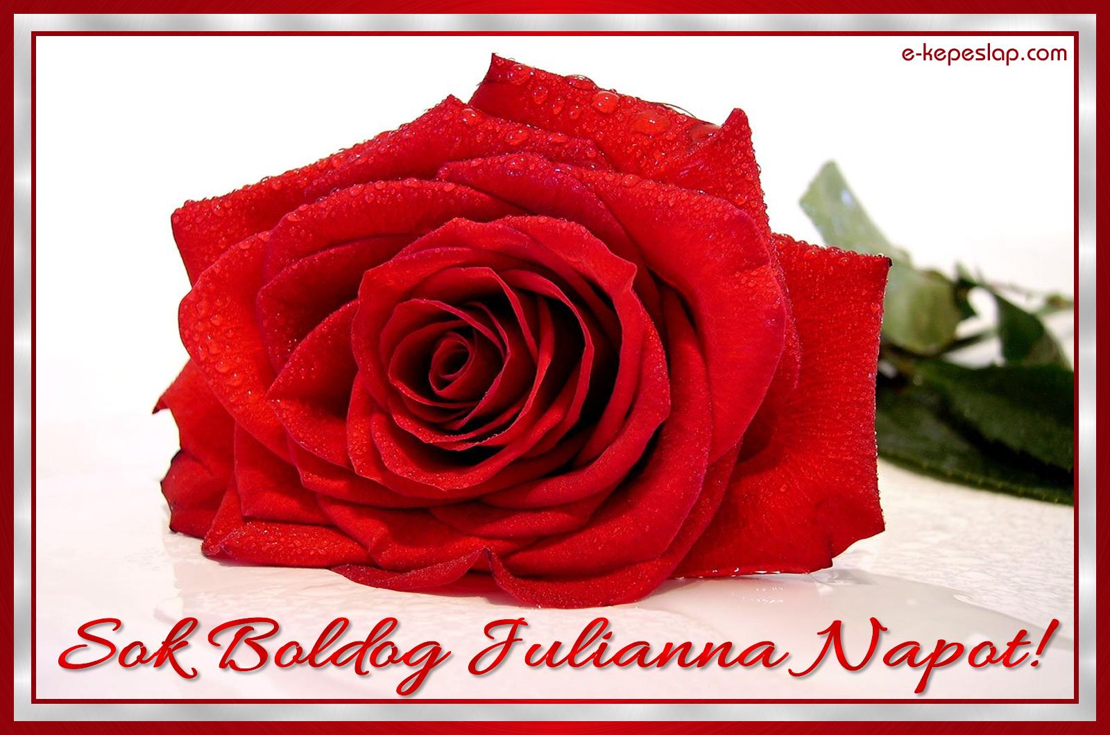 julianna névnapi képek Julianna névnapi képeslap   Képeslapküldés   e kepeslap.com julianna névnapi képek
