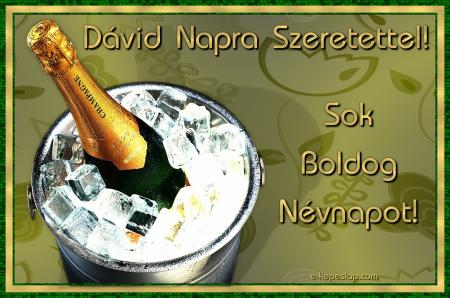 boldog névnapot dávid Dávid névnapi kép küldése képeslapként  Képeslapküldés   e  boldog névnapot dávid