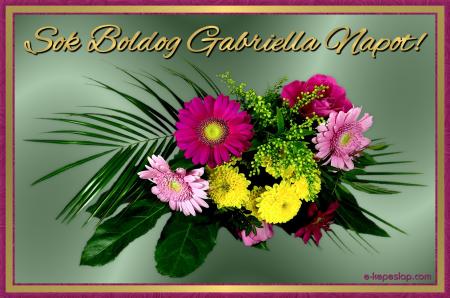 névnapi képek gabriella Gabriella névnapi képeslap   Képeslapküldés   e kepeslap.com névnapi képek gabriella