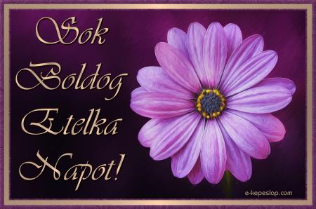 etelka névnapi köszöntő Névre szóló képeslap Etelka névnapra   Képeslapküldés   e kepeslap.com etelka névnapi köszöntő