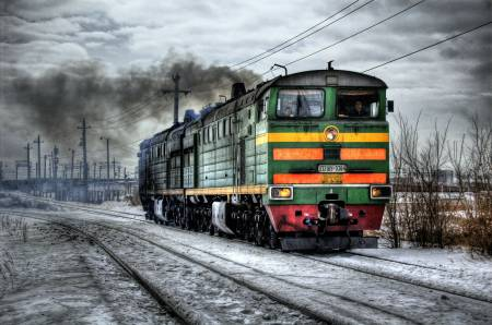 Orosz dízel mozdony