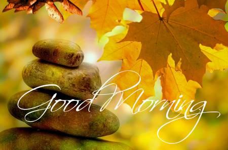 Jó reggelt! - őszi kép
