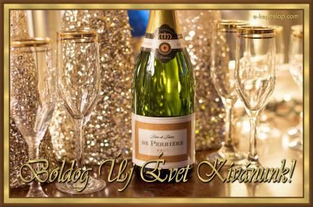 Boldog új évet szilveszteri kép