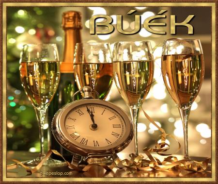 BÚÉK újévi képeslap
