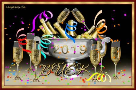 BÚÉK 2019 kép sok-sok pezsgőspohárral