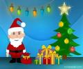 Mikulásos flash képeslap télapóra és karácsonyra.