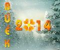 BÚÉK 2014 újévi képeslap.