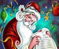 Télapó a listáját ellenőrzi. Ha jól viselkedtél, nem marad el az ajándék sem.