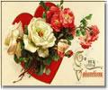 Képeslapküldés: Valentin nap 937 képeslap.