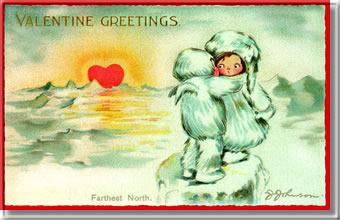 Kép: Valentin nap 938 képeslap.