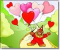 Képeslapküldés: Valentin nap 940 képeslap.