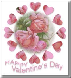 Képeslapküldés: Valentin nap 954 képeslap.